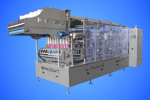 Automatic Linear Cup Filling Machine  8line 125